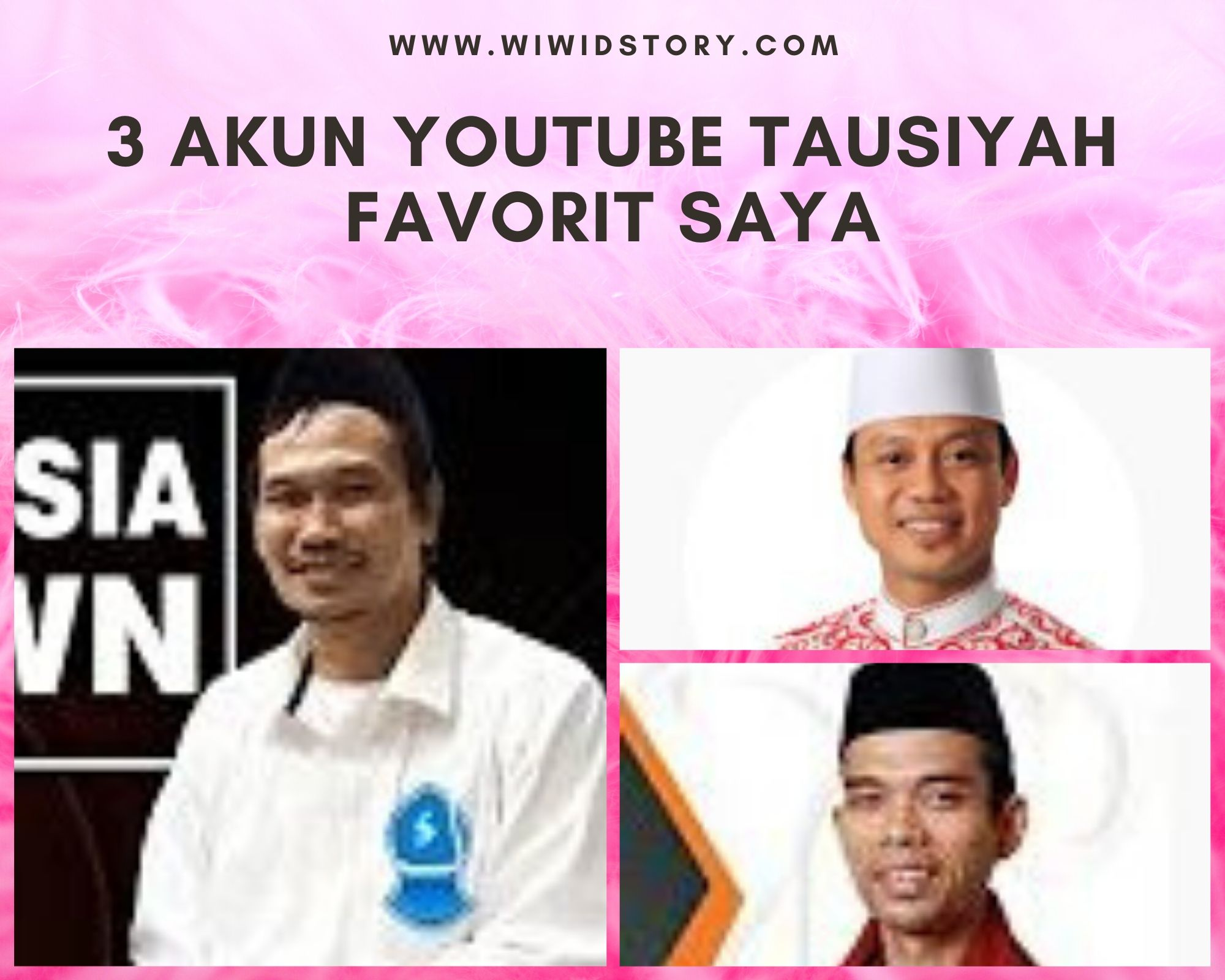 akun yotube tausiyah favorit