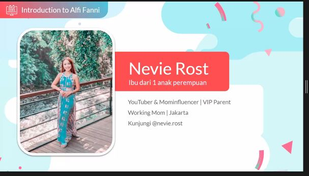 Nevie Rost dari VIP Parents