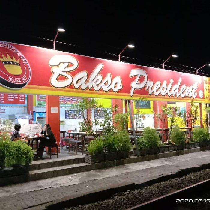 Kuliner malang Bakso President Malang