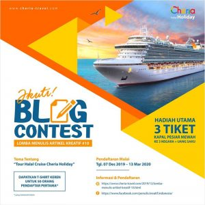 Blog Contest Cheria Travel