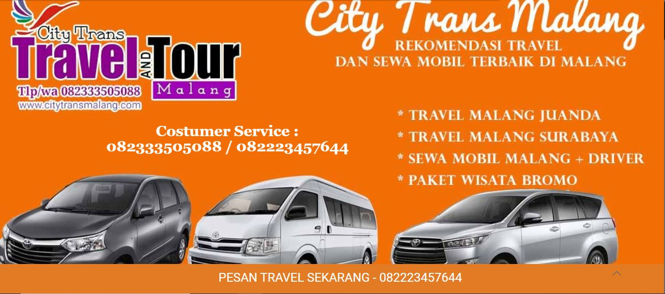 Travel Malang Juanda Malang Citytrans Aja