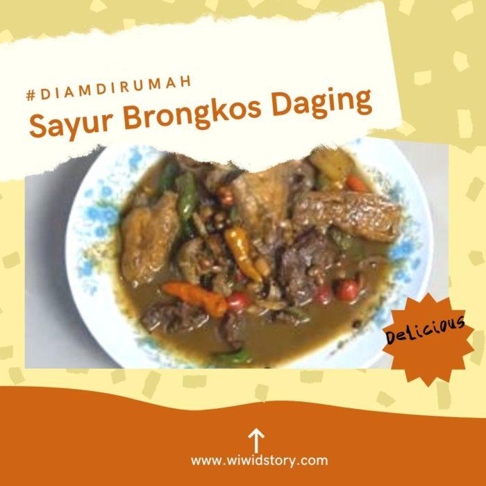 Resep Brongkos lezzat Masakan Tradisional