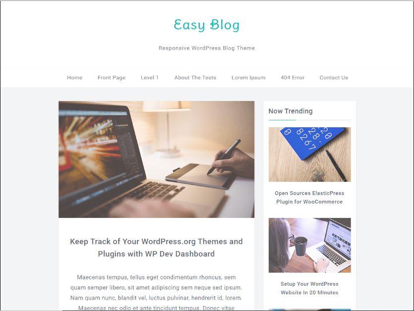 Tema WordPress Ramah SEO