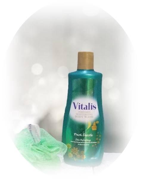 Vitalis Bosywash mandi parfum Fresh Dazzle