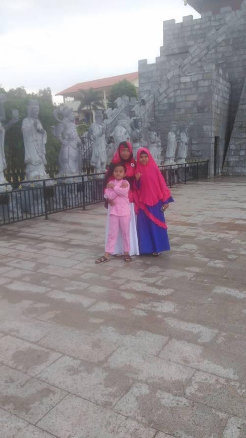 Patung Seribu Wajah Wihara Ksitigarbha Budhisattva
