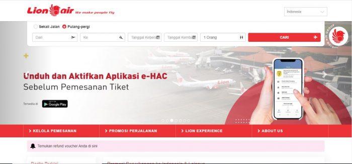 Voucher rapid test Lion Air