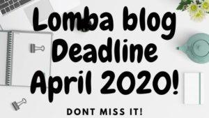 Lomba Blog April 2020