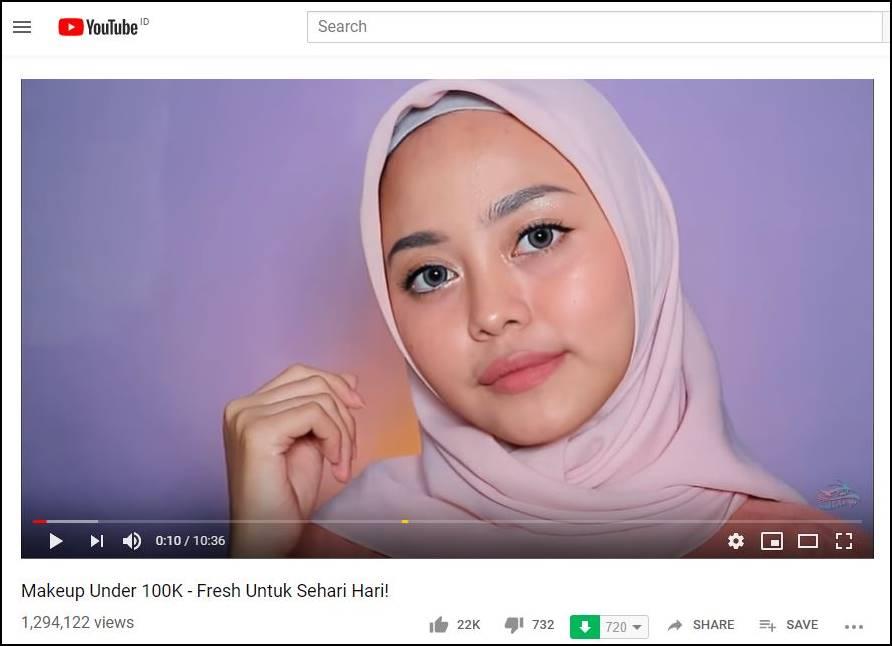 Tutorial Makeup Natural