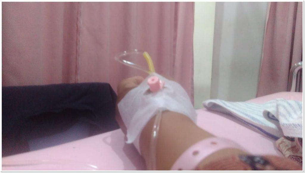 Infus di Rumah Sakit