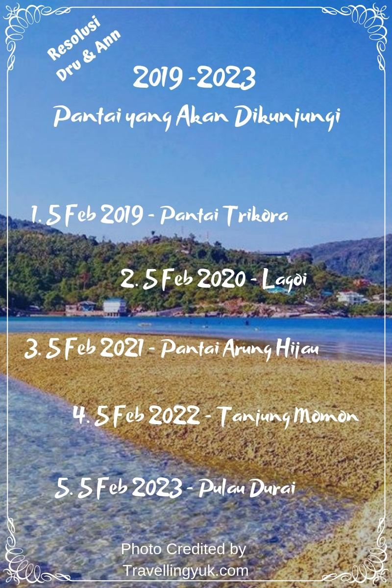 Pantai di kepulauan Riau