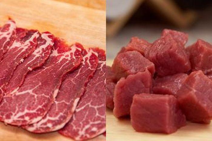 Perbedaan daging sapi dan Kambing
