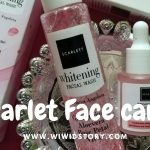Scarlet Face care