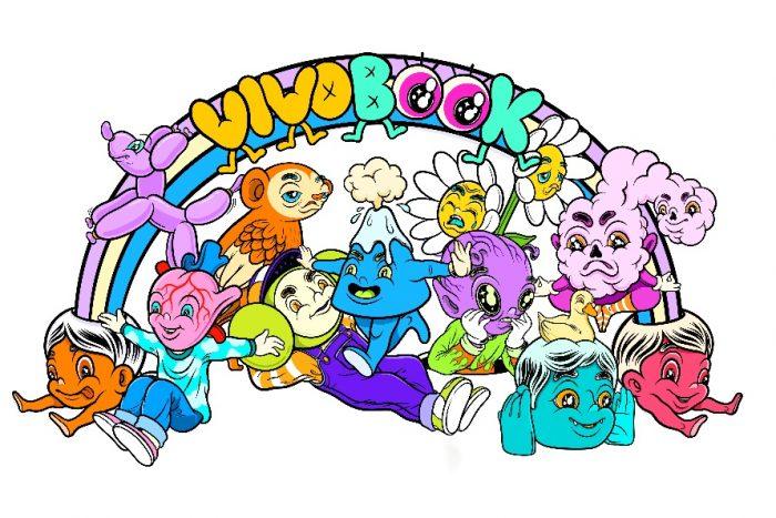 Sticker Vivobook karya Muklay