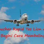 Voucher Rapid Tes Lion Air