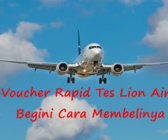 Voucher Rapid Tes Lionair, Begini Cara Memesannya
