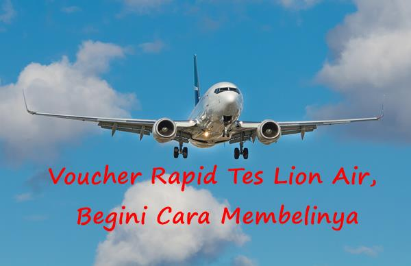 Voucher Rapid Tes Lion Air