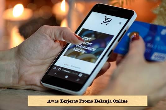 Tips Agar tidak kalap Saat Belanja Online