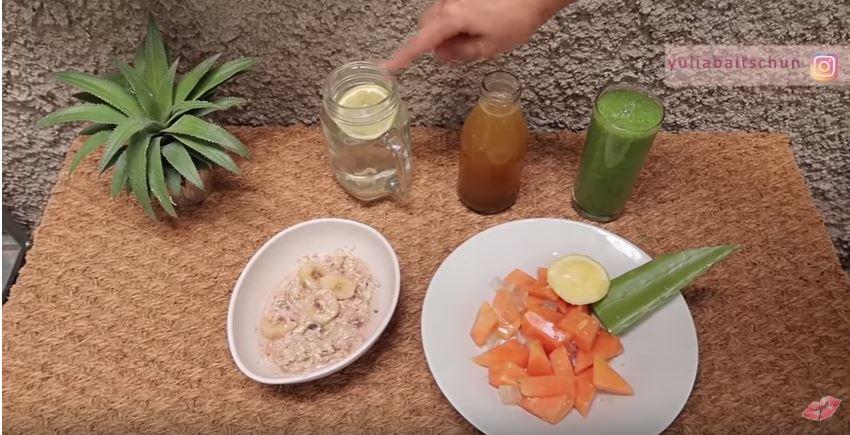 Sarapan Membersihkan Usus : Salah Satu Tips Diet ala Yulia Baltschum